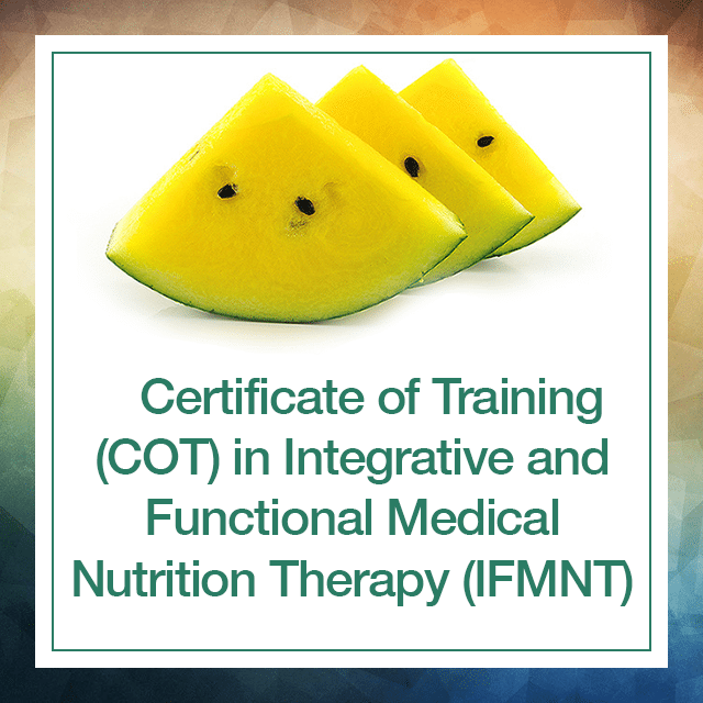 Certificate Of Training Cot In Integrative And Functional Medical